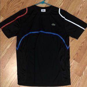 Lacoste sport athletic tee - size M